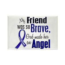 Angel 1 FRIEND (She) Colon Cancer Rectangle Magnet