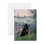 Seine / Schipperke Greeting Cards (Pk of 20)
