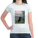 Seine / Schipperke Jr. Ringer T-Shirt