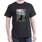 Seine / Schipperke Dark T-Shirt
