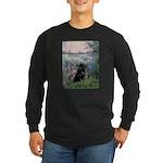 Seine / Schipperke Long Sleeve Dark T-Shirt
