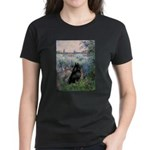 Seine / Schipperke Women's Dark T-Shirt