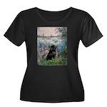 Seine / Schipperke Women's Plus Size Scoop Neck Da