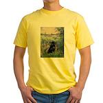Seine / Schipperke Yellow T-Shirt