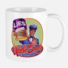 Uncle Sam's Canned Lies Mug