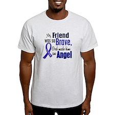 Angel 1 FRIEND (He) Colon Cancer T-Shirt