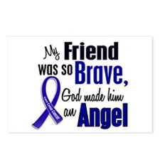 Angel 1 FRIEND (He) Colon Cancer Postcards (Packag