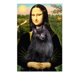 Mona / Schipperke Postcards (Package of 8)