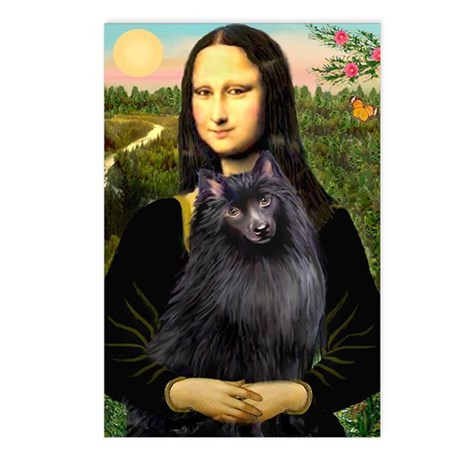 Mona / Schipperke Postcards (Package of 8)