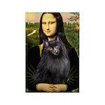 Mona / Schipperke Rectangle Magnet (100 pack)