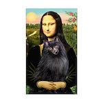 Mona / Schipperke Sticker (Rectangle)