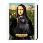 Mona / Schipperke Mousepad