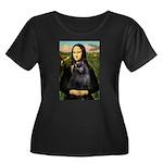 Mona / Schipperke Women's Plus Size Scoop Neck Dar