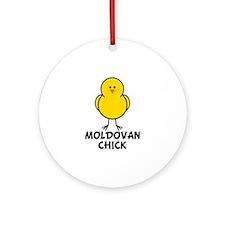 Moldovan Chick Ornament (Round)