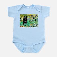 Irises / Schipperke #2 Infant Bodysuit