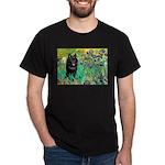 Irises / Schipperke #2 Dark T-Shirt
