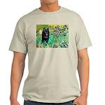 Irises / Schipperke #2 Light T-Shirt