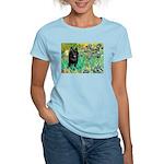 Irises / Schipperke #2 Women's Light T-Shirt