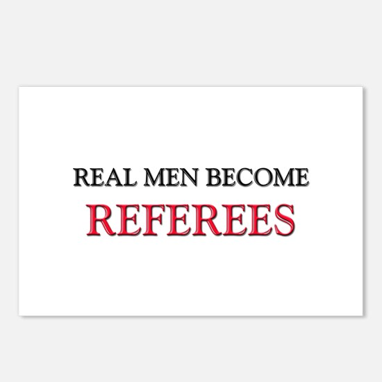Real Men Become Referees Postcards (Package of 8)