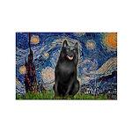 Starry / Schipperke #5 Rectangle Magnet (10 pack)