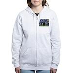 Starry / Schipperke #5 Women's Zip Hoodie