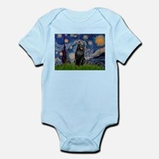 Starry / Schipperke #5 Infant Bodysuit