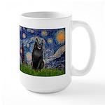 Starry / Schipperke #5 Large Mug