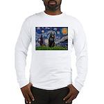 Starry / Schipperke #5 Long Sleeve T-Shirt