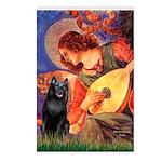 Mandolin / Schipperke #5 Postcards (Package of 8)