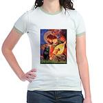 Mandolin / Schipperke #5 Jr. Ringer T-Shirt