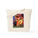 Mandolin / Schipperke #5 Tote Bag