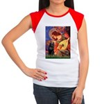 Mandolin / Schipperke #5 Women's Cap Sleeve T-Shir