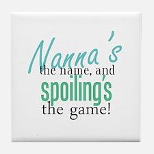 Nanna's the Name Tile Coaster