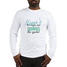Nanna's the Name Long Sleeve T-Shirt