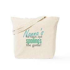 Nanna's the Name Tote Bag