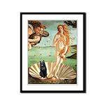 Venus / Schipperke #5 Framed Panel Print