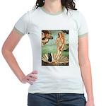Venus / Schipperke #5 Jr. Ringer T-Shirt