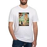 Venus / Schipperke #5 Fitted T-Shirt