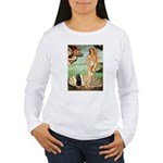 Venus / Schipperke #5 Women's Long Sleeve T-Shirt