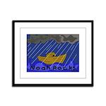 Noah Rocks Bible Framed Panel Print