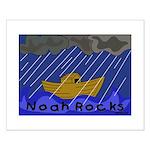 Noah Rocks Bible Small Poster