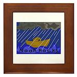 Noah Rocks Bible Framed Tile