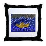 Noah Rocks Bible Throw Pillow