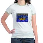 Noah Rocks Bible Jr. Ringer T-Shirt