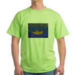 Noah Rocks Bible Green T-Shirt