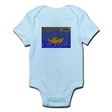 Noah Rocks Bible Infant Bodysuit