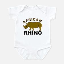 African Rhino Onesie