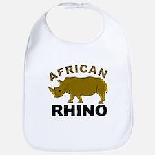 African Rhino Bib