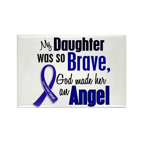 Angel 1 DAUGHTER Colon Cancer Rectangle Magnet