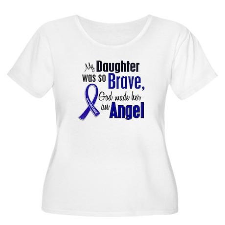 Angel 1 DAUGHTER Colon Cancer Women's Plus Size Sc